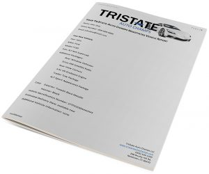 tristate auto champs savings packet