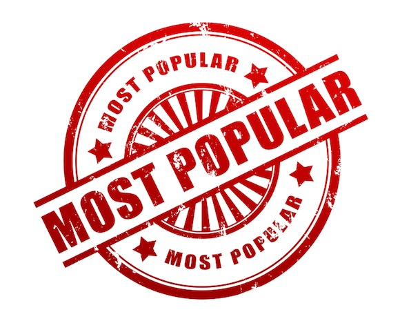 Most popular, Red most popular